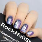 RockNailStar Трафарет-мини Блеск