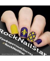 RockNailStar Трафарет-мини Геральдика
