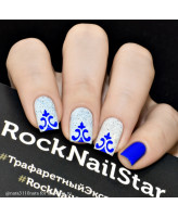 RockNailStar Трафарет-мини Мехенди