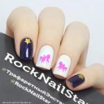 RockNailStar Трафарет Принцесса