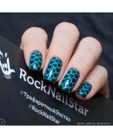 RockNailStar Трафарет Русалка