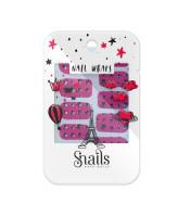 Snails Наклейки для ногтей Pink Stars