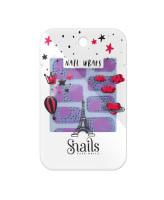 Snails Наклейки для ногтей Pink Zebra