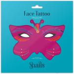 Snails Временные татуировки для лица Brazil