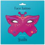 Snails Временные татуировки для лица Fairy Dust