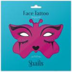 Snails Временные татуировки для лица Midnight Cat