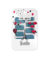 Snails Наклейки для ногтей Turquoise