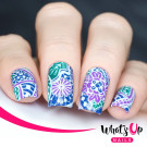 Whats Up Nails A001 Majestic Flowers