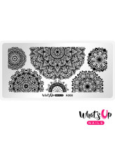 Whats Up Nails A008 Mandala Blossoms