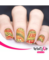 Whats Up Nails A017 Tribal Feather