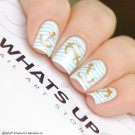 Whats Up Nails Трафарет Якорь (Anchor Stencils)