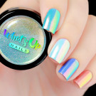 Whats Up Nails Пудра для дизайна Аврора (Aurora Powder)