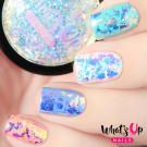 Whats Up Nails Блестки для дизайна Аврора (Aurora Supreme Flakies)