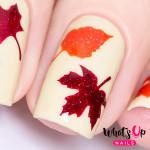Whats Up Nails Трафарет Осень