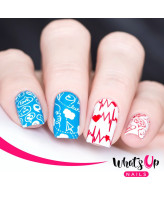 Whats Up Nails B024 Love is Everywhere