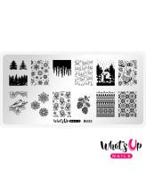Whats Up Nails B035 Icy Wonderland
