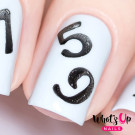 Whats Up Nails Трафарет Числа (Counting Stencils)