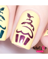 Whats Up Nails Трафарет Кекс