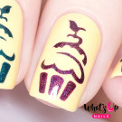 Whats Up Nails Трафарет Кекс (Cupcake Stencils)