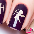 Whats Up Nails Трафарет Купидоны (Cupids Stencils)