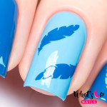 Whats Up Nails Трафарет Перышки
