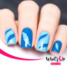 Whats Up Nails Трафарет Перышки (Feather Stencils)
