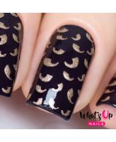 Whats Up Nails Трафарет Привидения