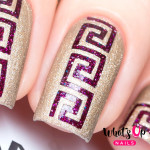Whats Up Nails Трафарет Греческие мотивы