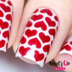 Whats Up Nails Трафарет Линии сердца