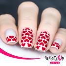 Whats Up Nails Трафарет Линии сердца (Heart Lines Stencils)