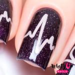 Whats Up Nails Трафарет Биение сердца