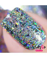 Whats Up Nails Блестки для дизайна Голографические Хлопья