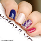 Whats Up Nails Трафарет Пчелиные соты (Honeycomb Stencils)