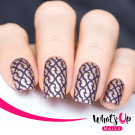 Whats Up Nails Трафарет Молнии (Lightning Bolts Stencils)