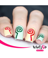Whats Up Nails Трафарет Леденцы