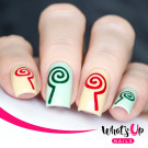 Whats Up Nails Трафарет Леденцы (Lollipops Stencils)
