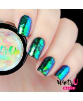 Whats Up Nails Блестки для дизайна Русалка