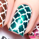 Whats Up Nails Трафарет Марокканские узоры