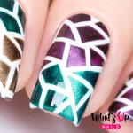 Whats Up Nails Трафарет Мозаика