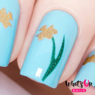 Whats Up Nails Трафарет Нарцисс (Narcissus Stencils)