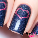 Whats Up Nails Трафарет Открытое сердце