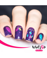 Whats Up Nails P018 Purple Dreams