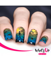 Whats Up Nails P039 Spider Invaders