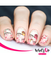 Whats Up Nails P056 Owl Always Love You