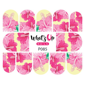 Whats Up Nails P085 Frilly Hibiscus