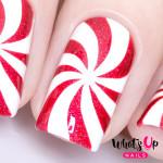 Whats Up Nails Трафарет Мятная конфета