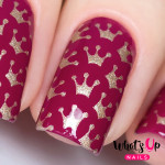 Whats Up Nails Трафарет Корона принцессы