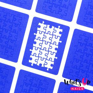Whats Up Nails Puzzle Stencils