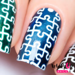Whats Up Nails Трафарет Паззл