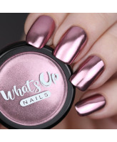 Whats Up Nails Пудра для дизайна Розовый хром